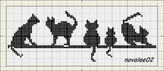 Thrilling Designing Your Own Cross Stitch Embroidery Patterns Ideas. Exhilarating Designing Your Own Cross Stitch Embroidery Patterns Ideas. Cross Stitch Bookmarks, Cross Stitch Charts, Cross Stitch Designs, Cross Stitch Patterns, Cat Cross Stitches, Cross Stitching, Cross Stitch Embroidery, Cat Silhouette, Cross Stitch Animals
