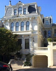 Victorian house - Mansard Style - pacific heights home san francisco