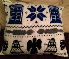My Doctor Who Inspired Pillow