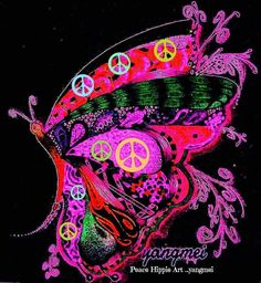 Peace Sign Art....                                                                                                                                                                                 More