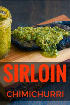 ... with tangy Chimichurri sauce for a party in your mouth! #cookoutweek