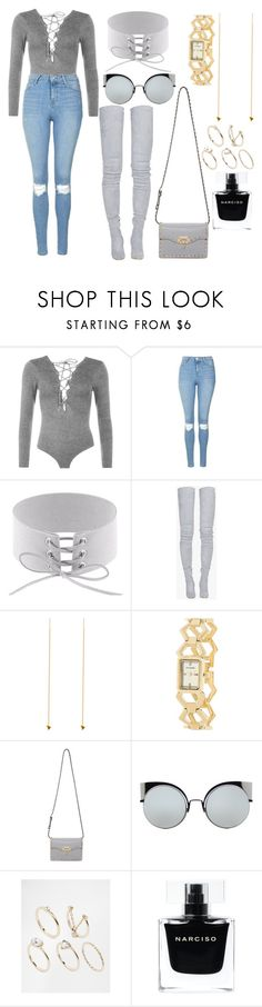 """grey area"" by queen-of-disasterxxi ❤ liked on Polyvore featuring WearAll, Topshop, Balmain, BDM Studio, Steve Madden, Valentino, Fendi, Lipsy and Narciso Rodriguez"