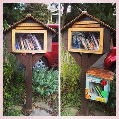 Little Free Library Kid Annex!