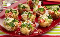 Baked Macaroni and Cheese Cupcakes Recipe by Giada De Laurentiis