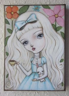 Alice    Fair Rosamund Art by Lauren Saxton