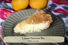 Lemon Custard Pie - Hammock Tracks