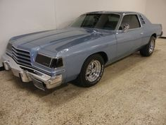 1978 Dodge Magnum..a guy in town has a black one...bad ass!
