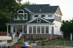 Waterfront Homes - Exteriors traditional exterior