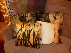 Gorgeous cushions at Liberty - Christmas Gift Guide: For Domestic Gods & Goddesses