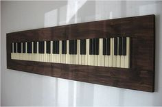 upcycled piano keys - Google Search