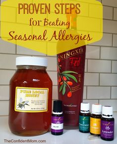 Beat Allergies this year with all natural Raw Honey, NingXia Red and essential oils!