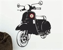 a Vespa in your garage... a Vespa on your wall