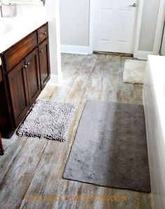 How To Paint Wood Floors That Are Too Damaged To Be