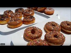 Donuts Facile Et Inratable Avec 2 Modes De Cuisson وصفة دونات ناجحة % وسهلة - YouTube Beignets, Brunch, Donuts, Doughnut, Totalement, Muffins, Cooking, Cake, Desserts