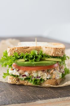 Classic Vegan Chickpea Salad
