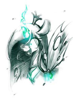 Queen Chrysalis by AKAINU7