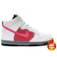 free shipping f71b7 98597 Womens Nike Dunk High Pink Clay