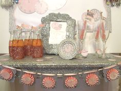 18d5b3eb38a0  New Years Eve Baby Shower  Bling Baby Shower