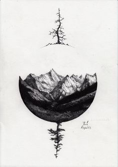 Just the top. Maybe compass with tree, mountain, water, pearl