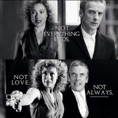 I wonder if River will come back.I'd be interested to see the dynamic with Peter's Doctor. Twelfth Doctor, Eleventh Doctor, General Doctor, All Doctor Who, Captain Jack Harkness, Alex Kingston, Amy Pond, Song Time, Peter Capaldi