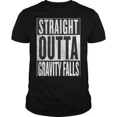 96c0035d9c Straight Outta Gravity Falls  name  tshirts  STRAIGHT  gift  ideas  Popular