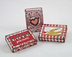 Valentine matchboxes (K.Batsel)