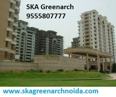 SKA Greenarch at Greater Noida West, offers 2 bedrooms and 3 bedrooms flats and apartments.