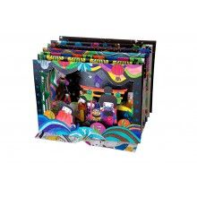 Mon Petit Art // Kokeshi 3D kleurplaten, Mon Petit Art