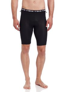 Pearl Izumi Men's Liner Shorts, Black, Large: Stretch mesh liner as found in our top end Veer Short, MTB Chamois powered by Minerale provides optimal moisture transfer, dry time and odor resistant. Cycling Bib Shorts, Cycling Outfit, Men Shorts, Compression Clothing, Compression Shorts, Athletic Outfits, Sport Outfits, Camping First Aid Kit, Mens Outdoor Clothing