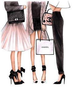 Fashion illustraties