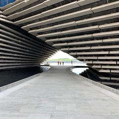 Three firsts by Kengo Kuma First design museum in Scotland. First Victoria and Albert museum outside London. First building designed by Kuma in UK. Kengo Kuma, Victoria And Albert Museum, Dundee, Design Museum, One Design, Building Design, Scotland, The Outsiders, Stairs