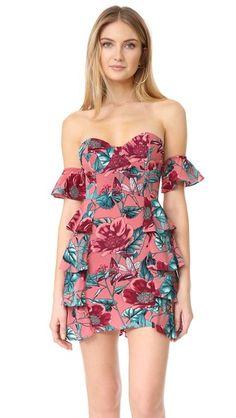 2fc6c17bd6 FOR LOVE  amp  LEMONS Flamenco Strapless Dress.  forlovelemons  cloth   dress