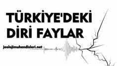 TÜRKİYE'DEKİ DİRİ FAYLAR