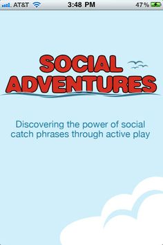 Great app for teaching social skills and friendship!