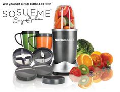 Magic Bullet NutriBullet High-Speed Blender/Mixer System - the best product out there to make healthy, nutritious drinks that can help you fight and prevent disease, lose weight Nutribullet 600, Nutribullet Recipes, Smoothie Recipes, Veggie Smoothies, Blender Recipes, Breakfast Smoothies, Breakfast Recipes, Blender Smoothie, Blender Mixer