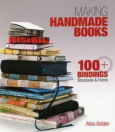 'Making Handmade Books - omg I'm obsessed - I can't stop making books!!!!