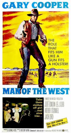 O Homem do Oeste (Man of the West, de Anthony Mann - 1958)