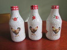 Mini garrafa decorada.