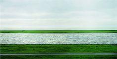 Andreas Gursky - Rhine II  1999