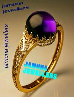 22j Gold Rings & oval uncut anithist