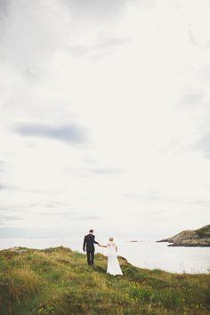 Bohemian Nordic Wedding on the Island of Bjørnsund