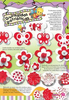Resultado de imagen para revista retoñitos fotocopiables Origami, Red And White, Classroom, Education, Google, Ideas, Molde, Paper Crafts, Classroom Setting