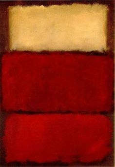 Mark Rothko Untitled Red, 1964.