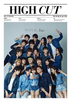 FNC Family   OMG LOOK AT THEM ALL OMG I LOVE THIS SO MUCH