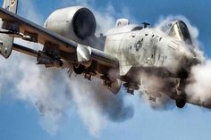 A-10 Warthog Unleashing hell