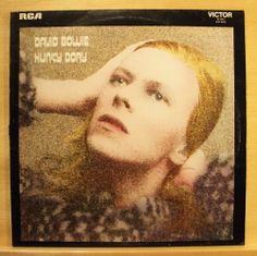 DAVID BOWIE - Hunky Dory - mint minus minus - UK Vinyl LP - Andy Warhol  Changes