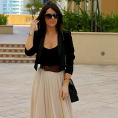 buy now, blog later. I am so sorry I missed out on this skirt, it's beautiful. Love the whole outfit.
