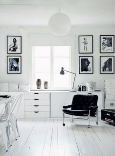 Old farmhouse with a modern twist, graphic black and white