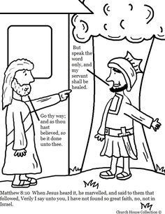 Image Result For Luke 7 1 10 Craft Sunday School Coloring Pages