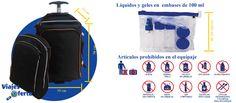 Que llevar en el equipaje de mano y que artículos están prohibidos. Entérate de los detalles en nuestro Blog.